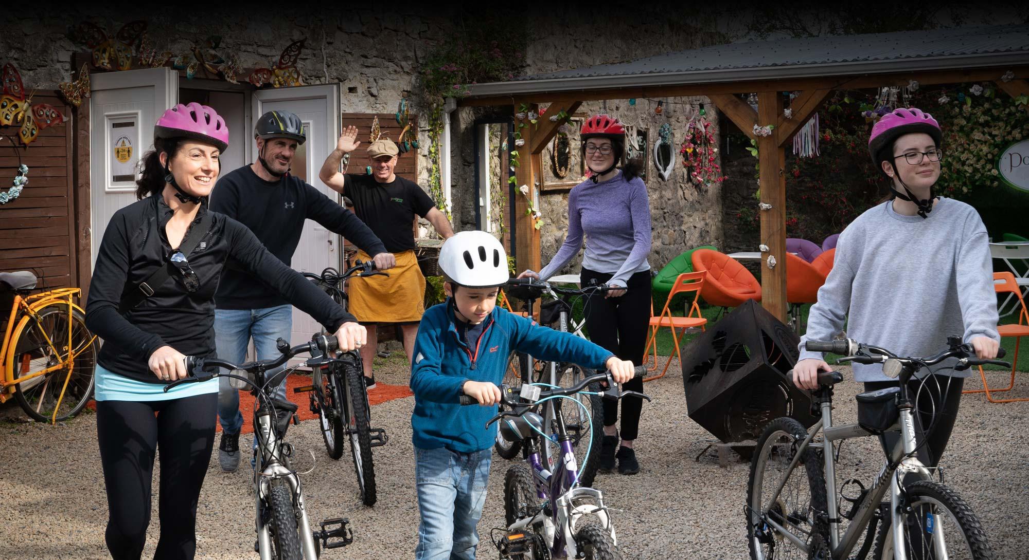 Dicks Bike Hire, Portumna, Galway - Slide 1