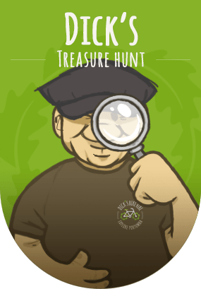 Dick's Treasure Hunt - Get off yer bike and explore!