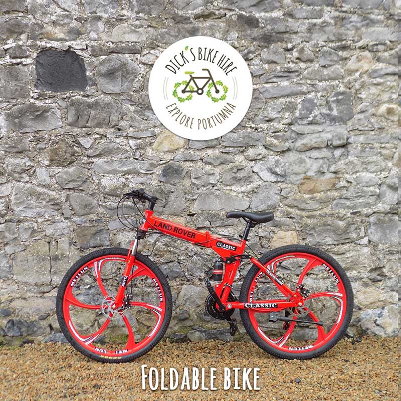 Foldable Bicycle Rental - Dick's Bike Hire, Portumna, Galway