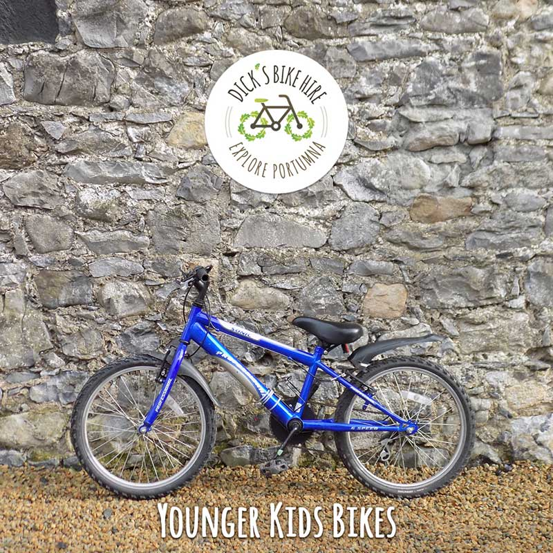 Kids Bicycle Rental - Dick's Bike Hire, Portumna, Galway