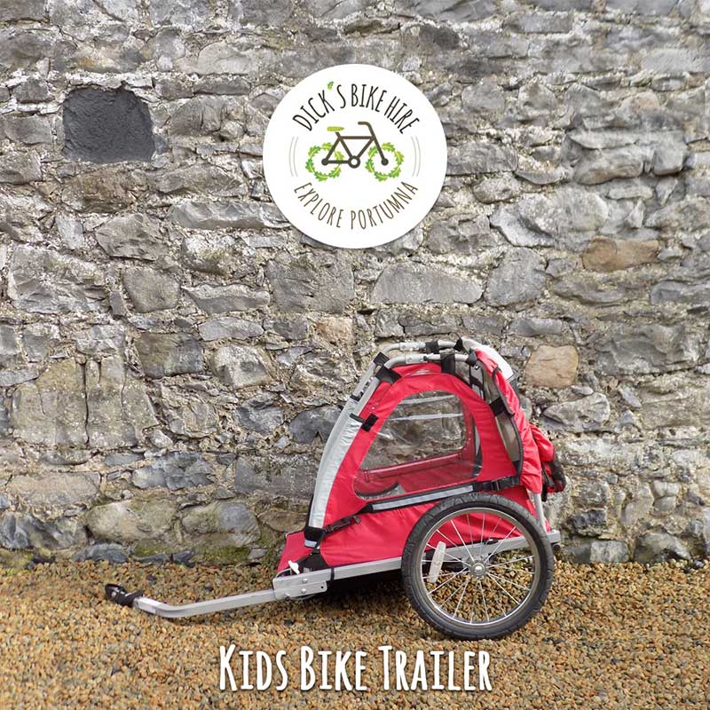 Kids Bicycle Trailer / Buggy Rental - Dick's Bike Hire, Portumna, Galway