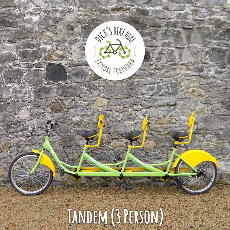Tandem Bicycle Rental - Dick's Bike Hire, Portumna, Galway