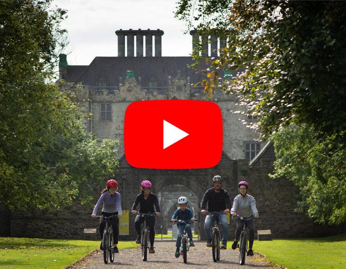 Dick's Bike Hire Portumna Video